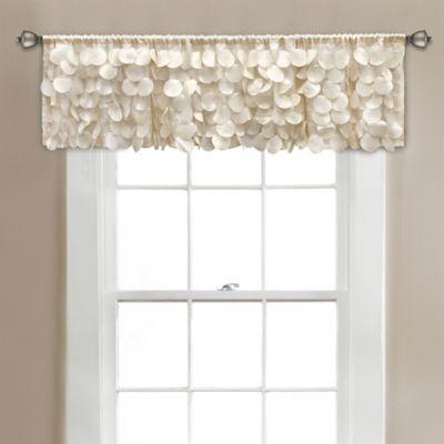 Gigi 45-Inch x 64-Inch Window Valance in Ivory