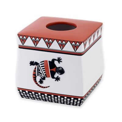 Avanti Acoma Resin Boutique Tissue Box Cover