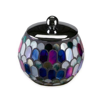 Morning Glory Cotton Jar