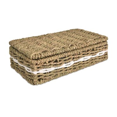 LaMont Home Riviera Seagrass Lidded Box
