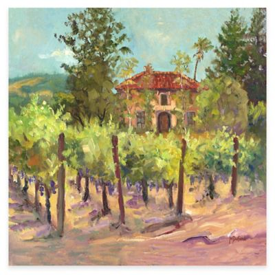 Tuck's Vineyard All Weather Outdoor Canvas Wall Art