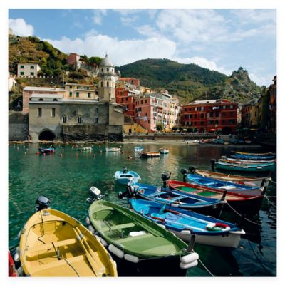 Cinque Terre All Weather Outdoor Canvas Wall Art