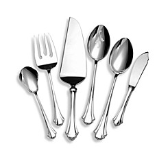 Lunt Silversmiths Bel Chateau Sterling Silver Flatware 6-Piece Hostess Set