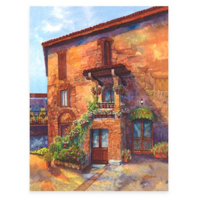 LAlbergo All Weather Outdoor Canvas Wall Art