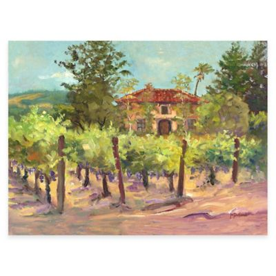 Villa and Vine All Weather Outdoor Canvas Wall Art
