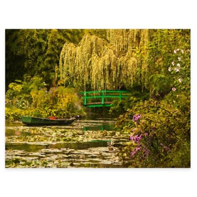 Water Garden All Weather Outdoor Canvas Wall Art