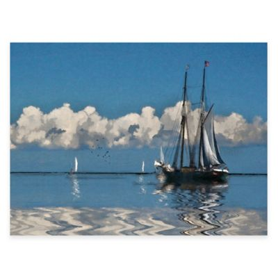 Vineyard Sound All Weather Outdoor Canvas Art