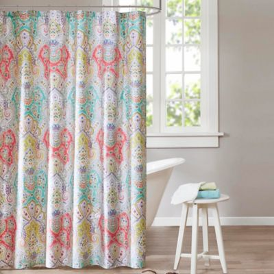 Echo Design Cyprus 72-Inch x 84-Inch Shower Curtain