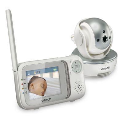 White Silver Video Monitor