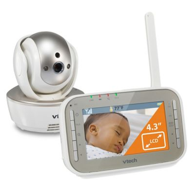 VTech® Safe and Sound VM343 4.3-Inch Baby Video Monitor