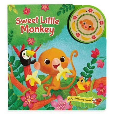 """""""Sweet Little Monkey"""" Sound Book by Julia Lobo"""