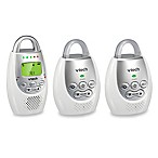 VTech Safe and Sound® DM221-2 Digital Audio Baby Monitor w/Talk-Back Intercom and 2 Parent Units