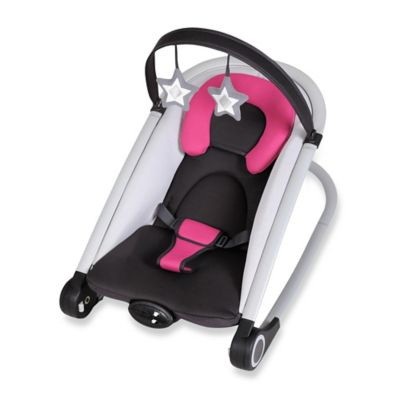 Baby Trend® Rock' n 2-in-1 Bouncer in Berry