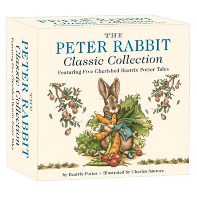 """""""The Peter Rabbit Classic Collection"""" 5-Book Boxed Set by Beatrix Potter"""