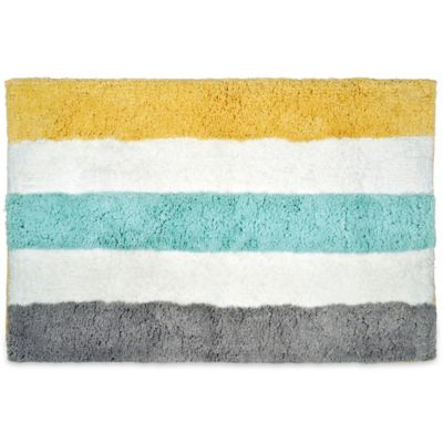 Multi Stripe Bath Rugs
