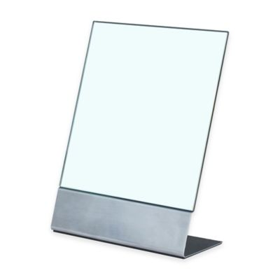 Alton 8.27-Inch x 3.94-Inch Stainless Steel Mirror