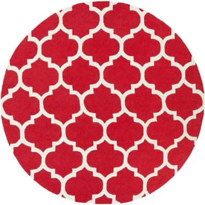 Buy Red White Rug From Bed Bath Amp Beyond