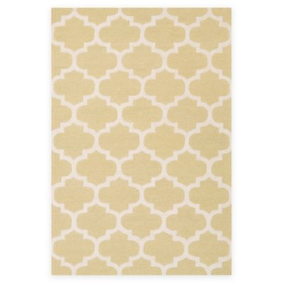 Artistic Weavers Pollack Stella 3-Foot x 5-Foot Area Rug in Gold/White