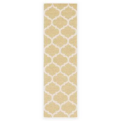 Artistic Weavers Pollack Stella 2-Foot 3-Inch x 8-Foot Area Rug in Gold/White