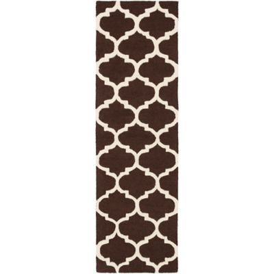 Artistic Weavers Pollack Stella 2-Foot 3-Inch x 10-Foot Area Rug in Brown/White