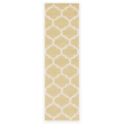 Artistic Weavers Pollack Stella 2-Foot 3-Inch x 12-Foot Area Rug in Gold/White