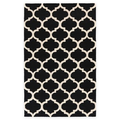 Artistic Weavers Pollack Stella 5-Foot x 8-Foot Area Rug in Black/White