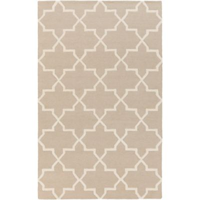 Artistic Weavers 4-Foot x 6-Foot Pollack Keely Area Rug in Grey/White
