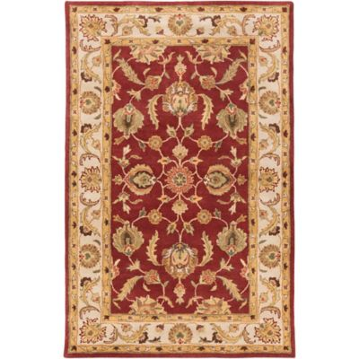 Artistic Weavers Oxford Isabelle 3-Foot x 5-Foot Rug in Red