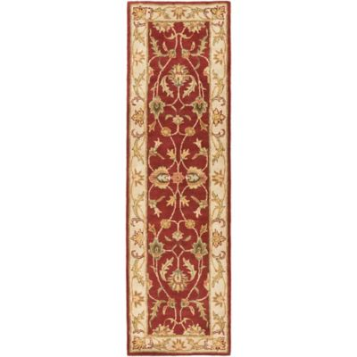 Artistic Weavers Oxford Isabelle 2-Foot 3-Inch x 8-Foot Rug in Red
