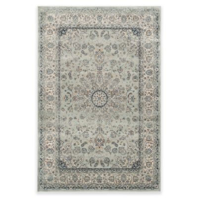 Safavieh Persian Garden Vintage Center Medallion 5-Foot 1-inch x 7-Foot 7-Inch Rug in Blue