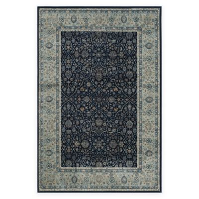 Safavieh Persian Garden Vintage Arch 8-Foot x 11-Foot Area Rug in Ivory/Navy