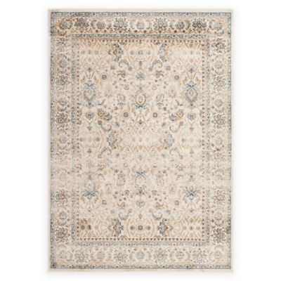 Safavieh Persian Garden Vintage Floral 4-Foot x 5-Foot 7-Inch Area Rug in Ivory