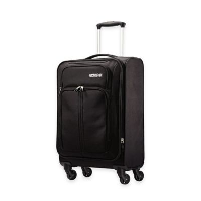 American Tourister® Splash 20-Inch Carry-On Spinner Suitcase in Black