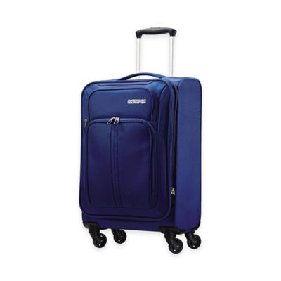 American Tourister® Splash 20-Inch Carry-On Spinner Suitcase in Blue