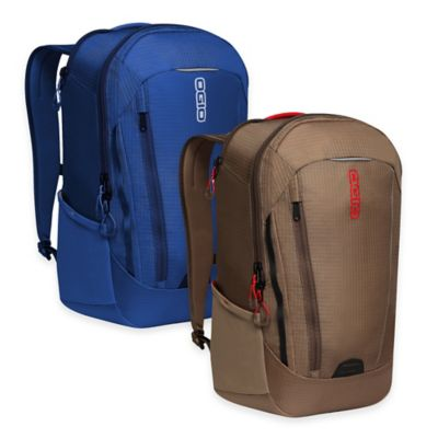 OGIO Apollo Backpack in Khaki/Red