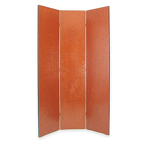Wayborn Yuenchai Room Divider Screen In Red Bed Bath