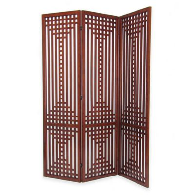 Wayborn Sarawak Traditional Wooded Screen