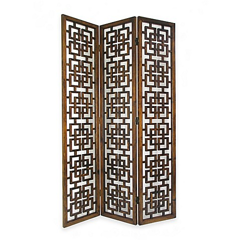 Buy Wayborn Fullhouse Room Divider Screen In Brown From