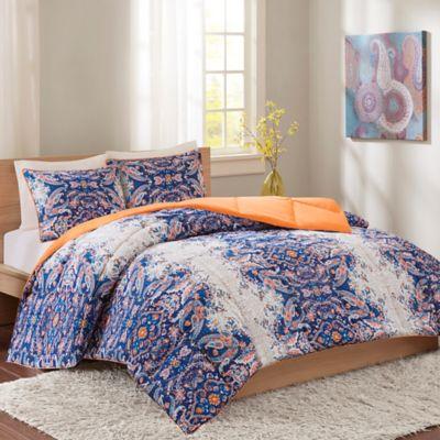 Intelligent Design Minnet Full/Queen Reversible Comforter Set