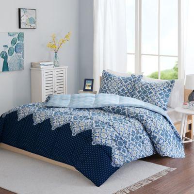 Intelligent Design Tia Reversible Full/Queen Comforter Set