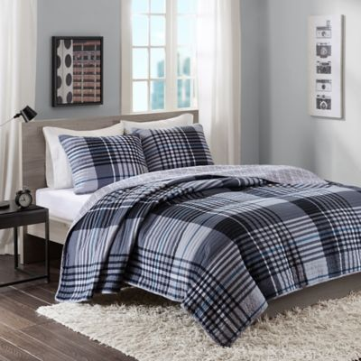 Intelligent Design Nathan Twin/Twin XL Quilt Set