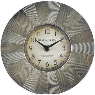 FirsTime® Luster Tabletop Clock
