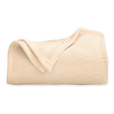 Cotton Full/Queen Blanket in Natural