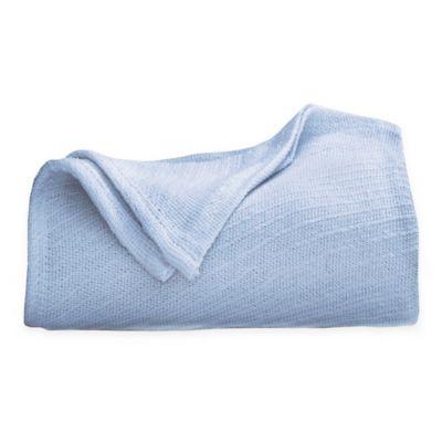 Cotton Full/Queen Blanket in Blue