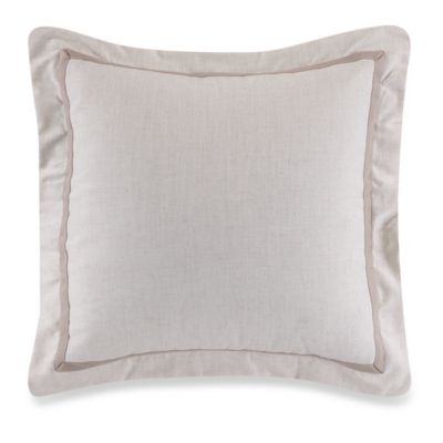Sherry Kline Retreat European Pillow Sham in Linen