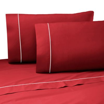 Martex Pipeline Full Sheet Set in Paprika
