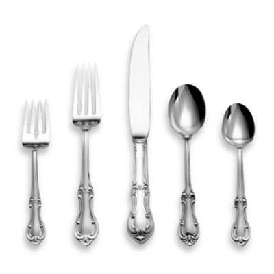 International Silver Joan of Arc® Sterling Silver Flatware 5-Piece Place Setting