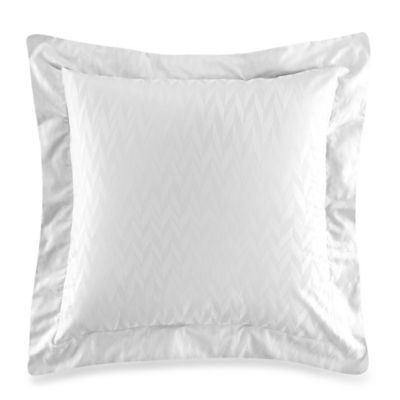 Frette At Home Porto Venere European Pillow Sham in White