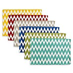 Mix and Match Chevron Cotton Placemats (Set of 6)