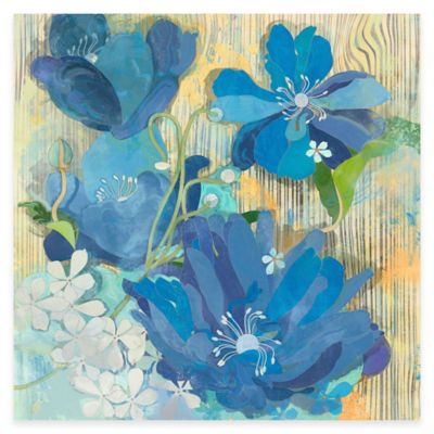 Parvez Taj Hampton Breeze 18-Inch x 18-Inch Canvas Wall Art